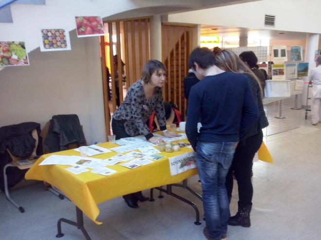 Stand d'animation
